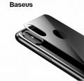 Baseus İphone Xs Max 6.5 Renkli Arka Cam Koruyucu 0.3mm