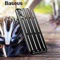 Baseus İphone Xs Max 6.5 Cycling Helmet Zırh Silikon Kılıf