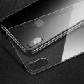 Cafele İphone X, Xs Parmak İzi Tutmaz Arka Full Cam Koruyucu