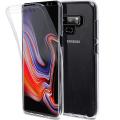 Ally Samsung Galaxy Note 9 360 Koruma Şeffaf Silikon Kılıf