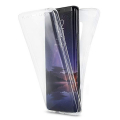 Ally Samsung Galaxy S9 360 Koruma Şeffaf Silikon Kılıf