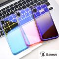 Baseus İphone Xs Max Glow Case Şeffaf Silikon Kılıf
