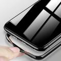 Cafele İphone Xr 6.1 Arkası Cam Yanları Silikon Kılıf