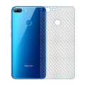 Ally Huawei Honor 9 Lite Şeffaf Karbon Fiber Kaplama Sticker