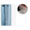 Huawei Honor10 Şeffaf Karbon Fiber Kaplama Sticker