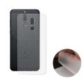 Huawei Mate 10 Lite Nova 2i Şeffaf Karbon Fiber Kaplama Sticker