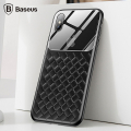 BASEUS İPHONE XS MAX 6.5 LENS WOVEN CAM VE SİLİKON  KILIF
