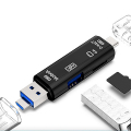 SMART OTG 3İN1 TYPE-C VE MİCRO USB TF CARD READER OTG