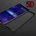 Huawei Mate 20 Lite  5d Kavisli Full Kırılmaz Cam Ekran Koruyucu