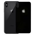 İphone Xs Max 6.5 Renkli Full Kırılmaz Arka Cam Koruyucu