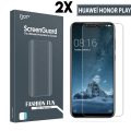 Gor Huawei Honor Play 3d Kavisli Full Darbe Emici Ekran Koruyucu 2 Adet Set