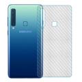 Ally Samsung Galaxy A9 2018,A9s,A9 Star Pro Şeffaf Karbon Fiber Kaplama Sticker