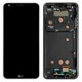 LG G6 FULL EKRAN LCD DOKUNMATİK ORTA ÇITA