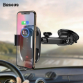 Baseus Smart Wireless Kablosuz Hızlı Şarj Araç Tutucu Wxzn-B01