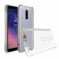 Ally Samsung Galaxy A6 Plus Darbe Emici Şeffaf Silikon Kılıf