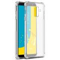 Ally Samsung Galaxy J8 2018 Darbe Emici Şeffaf Silikon Kılıf