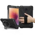 Ally Samsung Galaxy Tab A 8.0 (2017) T380, T385, 3 Katmanlı Standlı Zırh Kılıf
