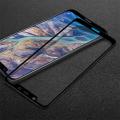 Nokia 7.1+ Plus X7 Ful Kavisli Kırılmaz Cam Ekran Koruyucu