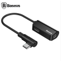 BASEUS L45 USB TYPE C 3.5MM KULAKLIK VE ŞARJ ÇEVİRİCİ KABLO