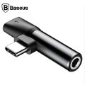 BASEUS L41 USB TYPE C 3.5MM KULAKLIK VE ŞARJ DÖNÜŞTÜRÜCÜ BAŞLIK