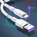 BASEUS CATSH METE 20 PRO S9P S10 USB TYPE C 5A SÜPER ŞARJ 1M