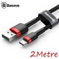 Baseus Cafule Usb Type C 2metre 2.0A Hızlı Şarj Halat Usb Kablo