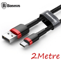BASEUS CAFULE USB TYPE C 2METRE 2.0A HIZLI ŞARJ HALAT USB KABLO