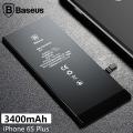 Baseus Orjinal İPhone 6S Plus 3400 Mah Yüksek Kapasiteli Pil Batarya