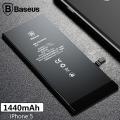 Baseus Orjinal İPhone 5 1440 Mah Pil Batarya