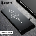 Baseus Orjinal İPhone 8 Plus 3400 Mah Pil Batarya