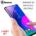 Baseus Sm Galaxy S10+ Plus Full Kaplayan Pet Ekran Koruyucu 2 Adet Set