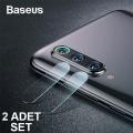 Baseus Xiaomi Mi 9,Mi 9se Kamera Koruyucu Kırılmaz Cam  2 Adet Set