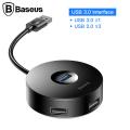 Baseus round box HUB Usb 3.0,T0 Usb 3.0 4 Usb Port Çoklayıcı Adeptör