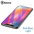 Baseus İphone Xs Max 0.3mm Antiblue Light Cam Ekran Koruyucu
