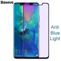 Baseus Huawei Mate 20 Pro 3d Anti Blue Light Kırılmaz Cam Ekran Koruyucu
