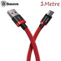 BASEUS GOLD BELT USB 5.0A TYPE C HIZLI ŞARJ USB KABLO 1 METRE