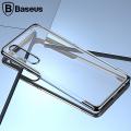 Baseus Huawei P30 Shining Kamera Korumalı Silikon Kılıf