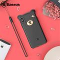 Baseus İphone Xs Max Bear Sevimli Ayı Figür Soft Silikon Kılıf