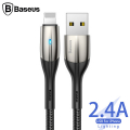 Baseus Horizontal İPhone 11,11 Pro XS,XR,İP7-İP8 2.4A Şarj Usb Kablosu