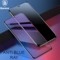 BASEUS İPHONE XS MAX 0.20MM ANTİ BLUE RAY TAM EKRAN KORUYUCU