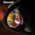 BASEUS FULL-VİSİON 2 ADET MİNİ GERİ GÖRÜŞ AYNASI,KÖR NOKTA AYNASI