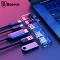 Baseus 5in1 Thunderbolt C+type- C Usb+ Hdmi Çoğaltıcı Hub