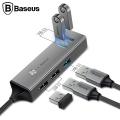 BASEUS CUBE HUB USB TYPE-C T0 3 USB 3.0, 2 USB 2.0 OTG HUB ÇOĞALTICI