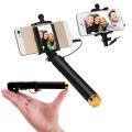 Kablolu Mini Selfie Özçekim Çubuğu