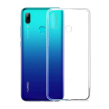 Huawei P Smart 2019 Kamera Korumalı Şeffaf Silikon Kılıf