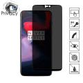 Oneplus 6 3d Privacy Gizlilik 3d Full Kırılmaz Cam Koruyucu Anti-Spy