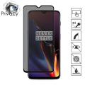 Oneplus 6t 3d Privacy Gizlilik 3d Full Kırılmaz Cam Koruyucu Anti-Spy