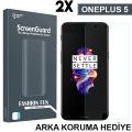 Gor Oneplus 5 3d Kavisli Full Kaplama Darbe Emici Ekran Koruyucu 2 Adet Set