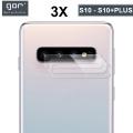 Gor Sm Galaxy S10,S10+ Plus Nano Kamera Koruyucu 3 Adet Set