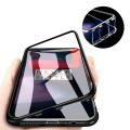 Oneplus 5t Mıknatıslı 360 Koruma Arkası Cam Metal Frame Kılıf